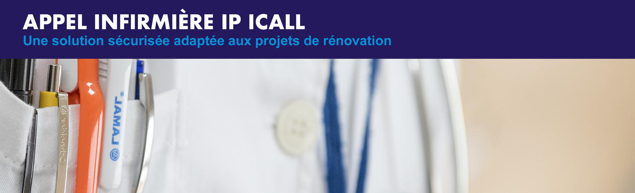 Appel infirmière IP iCall